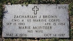 Marie Mcinteer Brown