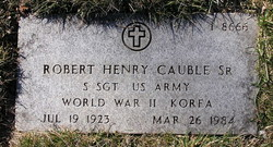 Robert Henry Cauble, Sr
