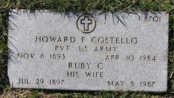 Howard F Costello