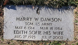Harry W Dawson