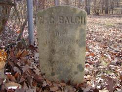 Pvt William C. Balch