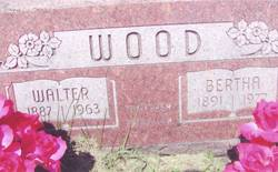 Bertha <I>Laird</I> Wood