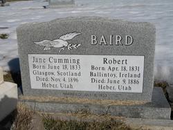 Jane <I>Cumming</I> Baird