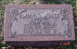 Emma <I>Choate</I> Adair