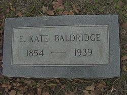 Eliza Katherine <I>Harrington</I> Baldridge