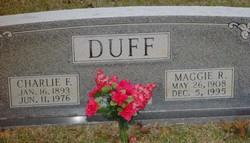 Maggie Ruth <I>Mercer</I> Duff