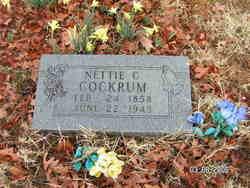 Nettie C. <I>Casey</I> Cockrum