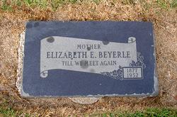 Elizabeth Ellen <I>Eckman</I> Beyerle
