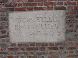 Voormezeele Cemetery Enclosures #01 and #02