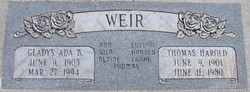 Thomas Harold Weir