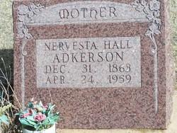 Nervesta <I>Coldiron</I> Adkerson