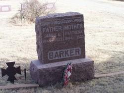 Parthena <I>Black</I> Barker