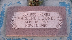 Marlene Jones