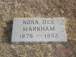 """La Nora Dee """"Nora"""" <I>Jones</I> Markham"""