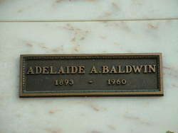 Adelaide A. Baldwin