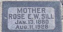 Rose Ellen <I>Webster</I> Sill