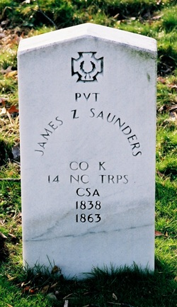 Pvt James Zimrah Sanders
