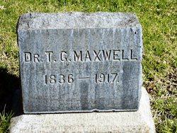 Dr Thomas George Maxwell