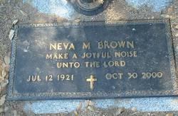 Neva M. <I>Jenkins</I> Brown