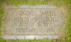 Virginia <I>Wallis</I> Newby - Williams