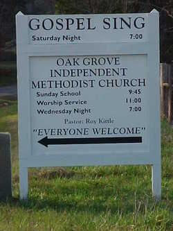Oak Grove Methodist Church Cemetery