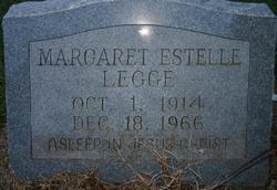 Margaret Estelle Legge