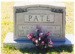 "John Thomas ""Johnny"" Pate"