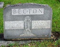 Sara <I>Laughlin</I> Becton