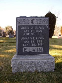 Anna Virginia E <I>Anderson</I> Elvin