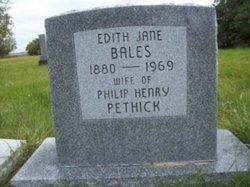 Edith Jane <I>Littlejohn</I> Bales