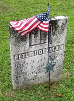 Pvt Peter Hoffman