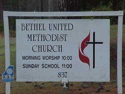 Bethel United Methodist Churchyard