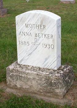 Anna <I>Spietza</I> Betker