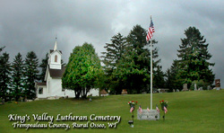 Kings Valley Lutheran Church Cemetery