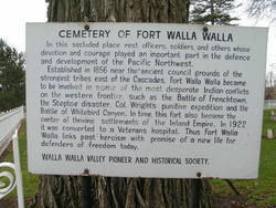 Fort Walla Walla Military Cemetery