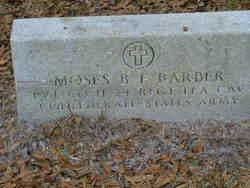 Moses B F Barber