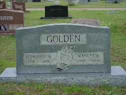 Waneta Evelyn <I>Parson</I> Golden