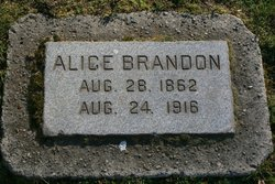 Alice <I>Cooley</I> Brandon