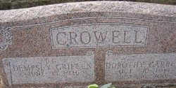 Dorothy Pearl <I>Carrell</I> Crowell