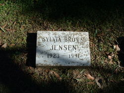 Sylvia <I>Brown</I> Jensen