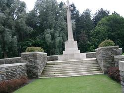 Polygon Wood Commonwealth War Graves Cemetery