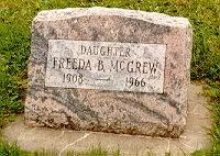 Freda B McGrew