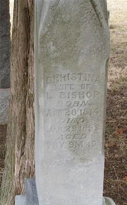 Christina <I>Adams</I> Bishop
