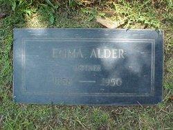 Emma Dirk <I>Jacobs</I> Alder
