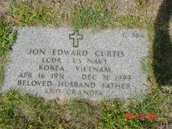 LCDR Jon Edward Curtis