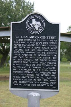 Williams-Buck Cemetery