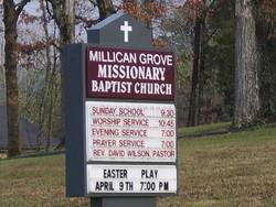 Millican Grove Baptist Church Cemetery