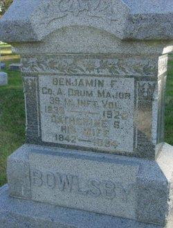 Benjamin Franklin Bowlsby