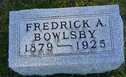 Fredrick Arthur Bowlsby