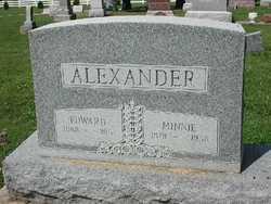 Minnie <I>Bell</I> Alexander
